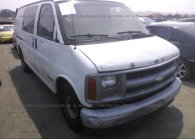Inventory #735226805 1999 Chevrolet EXPRESS G2500