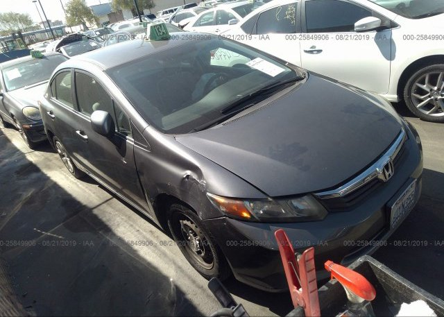 Inventory #768297126 2012 Honda CIVIC