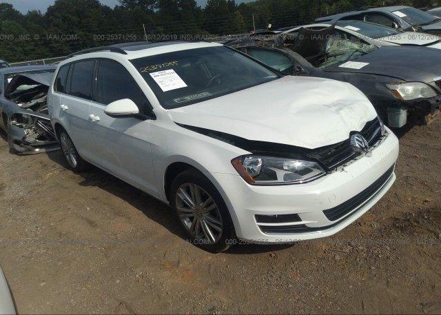 Inventory #618842310 2015 Volkswagen GOLF SPORTWAGEN