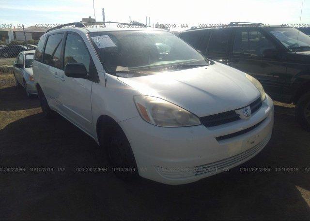 Inventory #564816929 2004 Toyota SIENNA