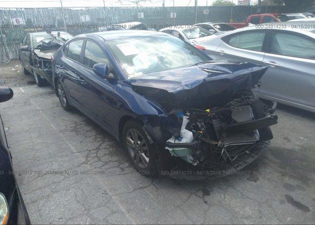 Inventory #951581570 2018 Hyundai ELANTRA
