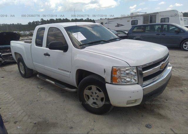 Inventory #109171615 2007 Chevrolet SILVERADO