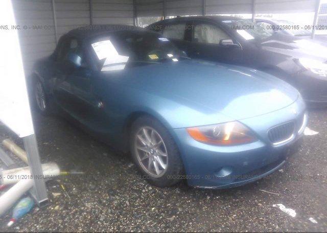 Inventory #147512318 2004 BMW Z4