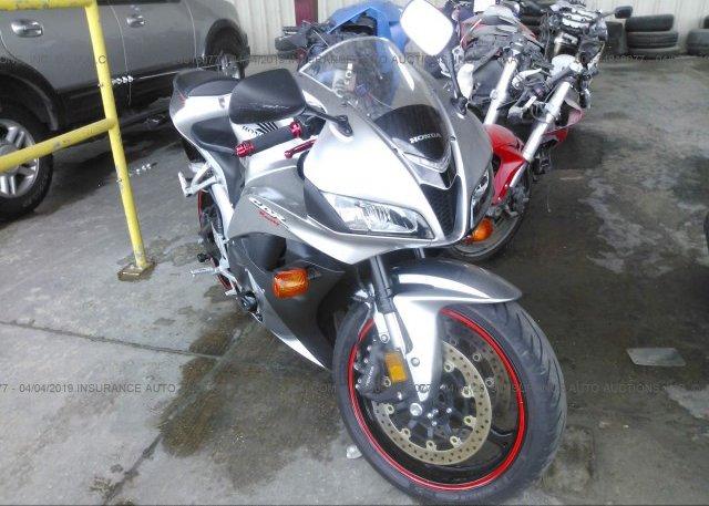 Inventory #141215083 2008 Honda CBR600