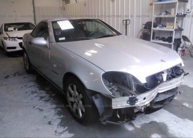 Bidding Ended On Wdbkk47fxwf057332 Salvage Mercedes Benz Slk At