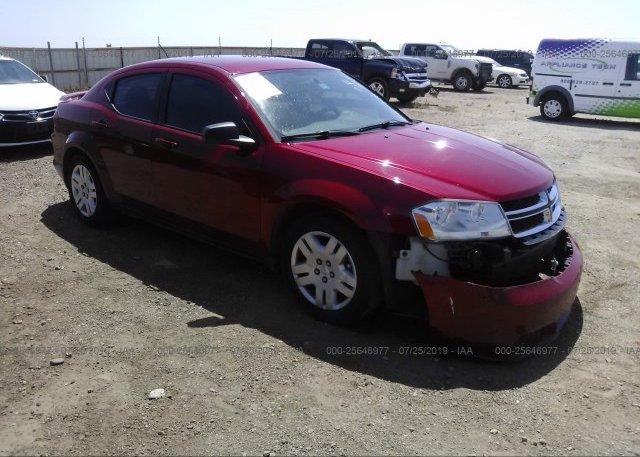 Inventory #574355552 2013 Dodge AVENGER