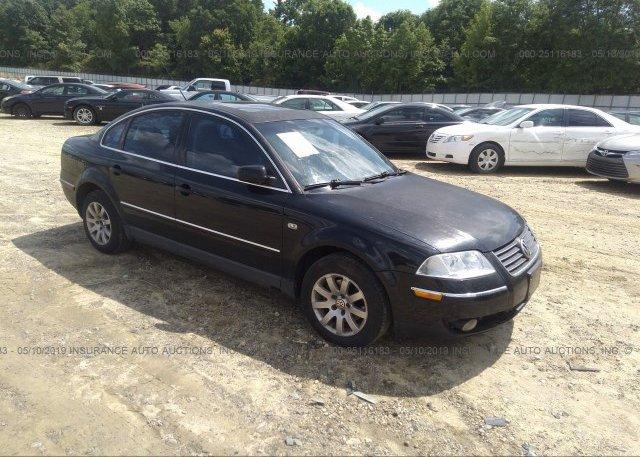 Inventory #216694876 2003 Volkswagen PASSAT