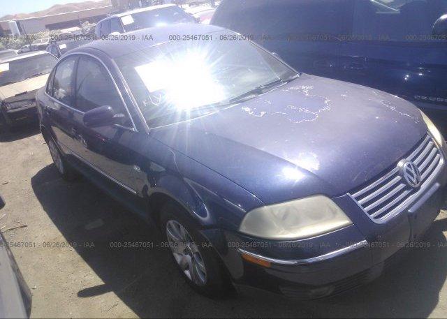 Inventory #842008526 2003 Volkswagen PASSAT