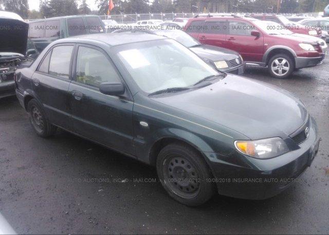 Inventory #695239958 2002 Mazda PROTEGE