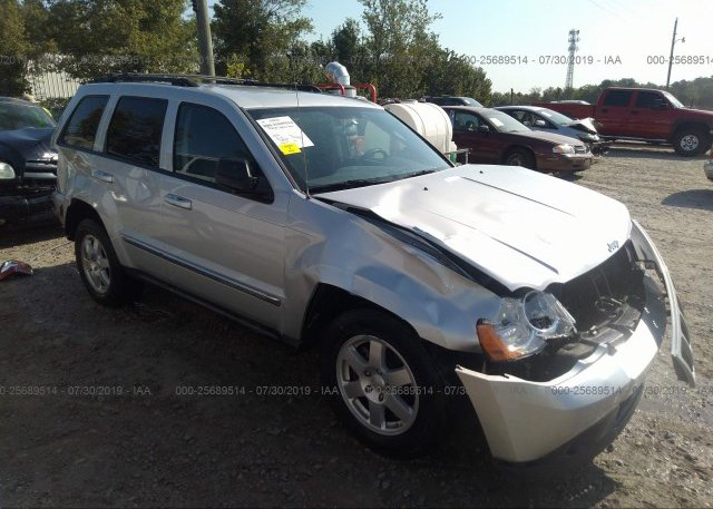 Inventory #911807104 2010 JEEP GRAND CHEROKEE