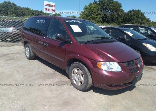 Inventory #513860932 2003 Dodge GRAND CARAVAN