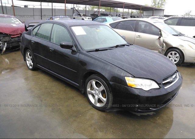 Inventory #644420383 2006 Subaru LEGACY