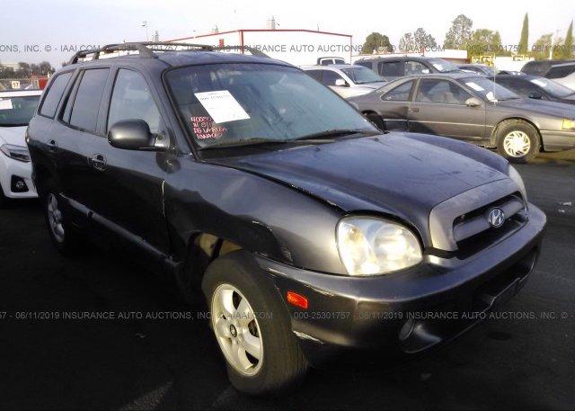 Inventory #562004089 2005 Hyundai SANTA FE