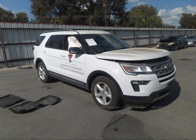 Inventory #663897386 2018 FORD EXPLORER
