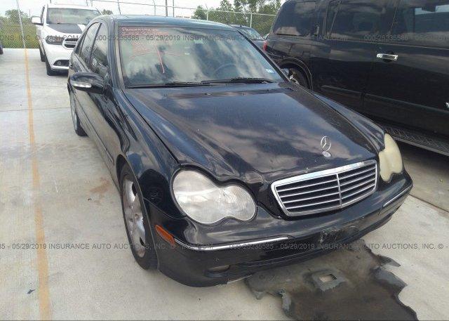 Inventory #619420042 2004 Mercedes-benz C