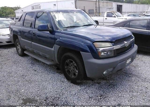Inventory #997376086 2002 CHEVROLET AVALANCHE