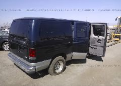 2003 Ford ECONOLINE - 1FMRE11L63HB17672 rear view