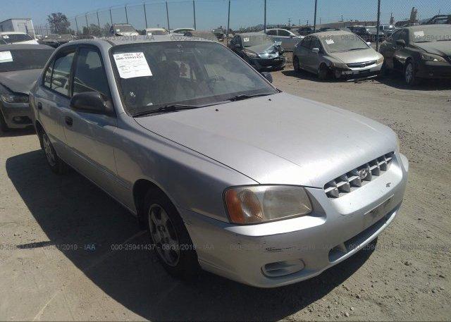 Inventory #183252465 2001 Hyundai ACCENT