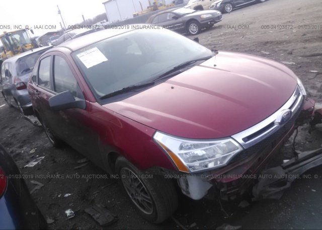 Inventory #801010927 2010 FORD FOCUS