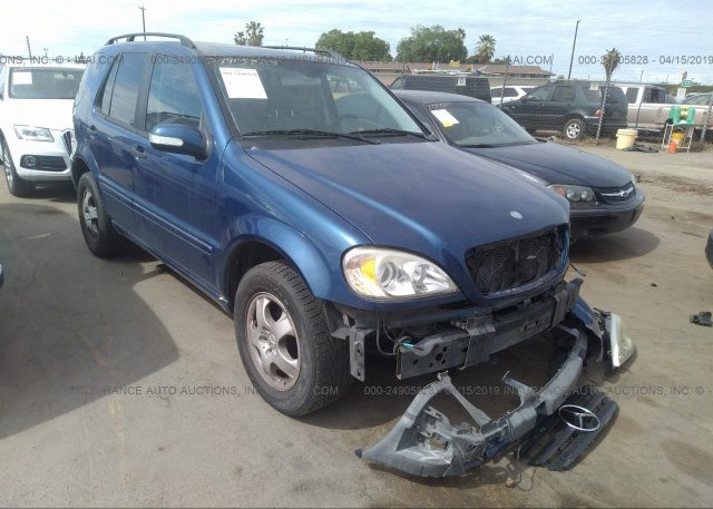 Inventory #461905950 2002 Mercedes-benz ML