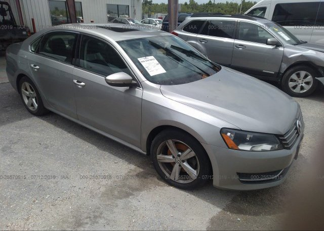 Inventory #609898124 2012 Volkswagen PASSAT