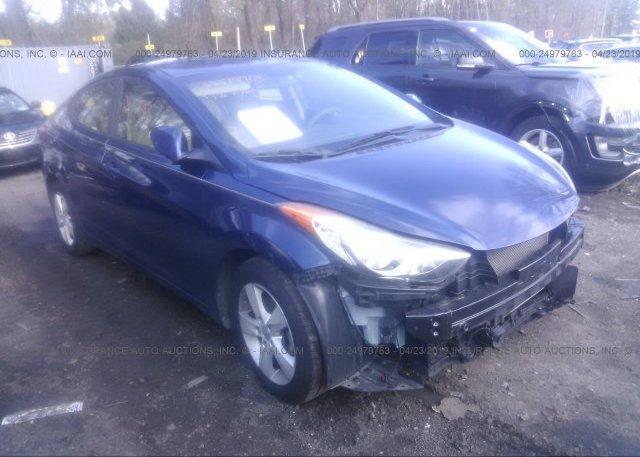 Inventory #499528606 2013 Hyundai ELANTRA