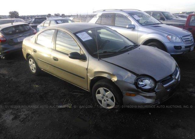 Inventory #447659273 2003 Dodge NEON