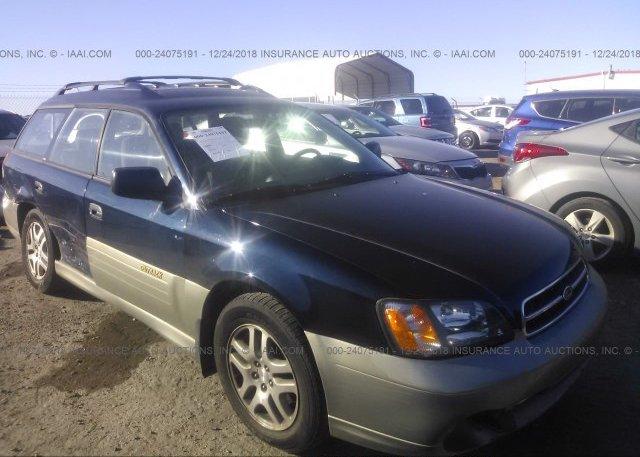 Inventory #331555755 2002 Subaru LEGACY