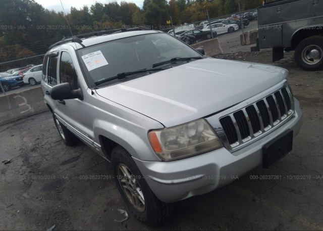 Inventory #432320320 2004 JEEP GRAND CHEROKEE