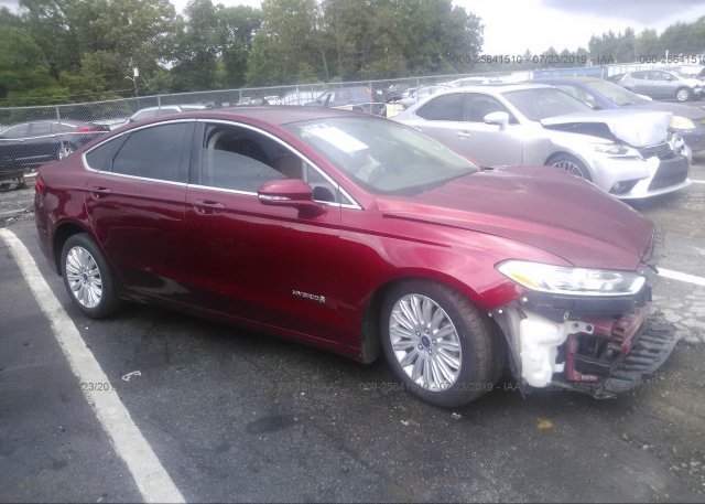 Inventory #220696439 2016 FORD FUSION