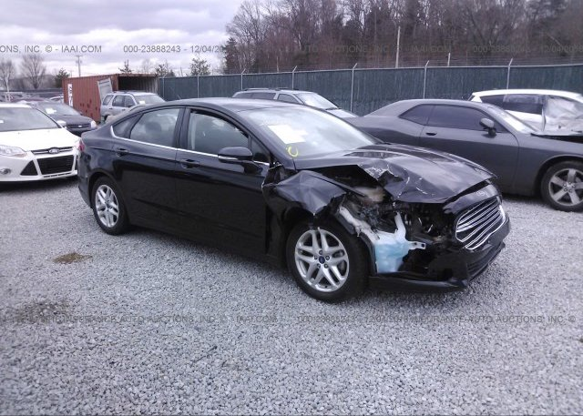 Inventory #166323419 2015 FORD FUSION