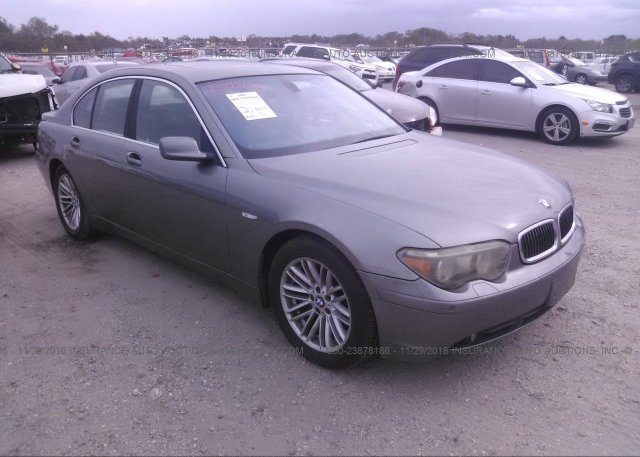 Inventory #223136082 2004 BMW 745
