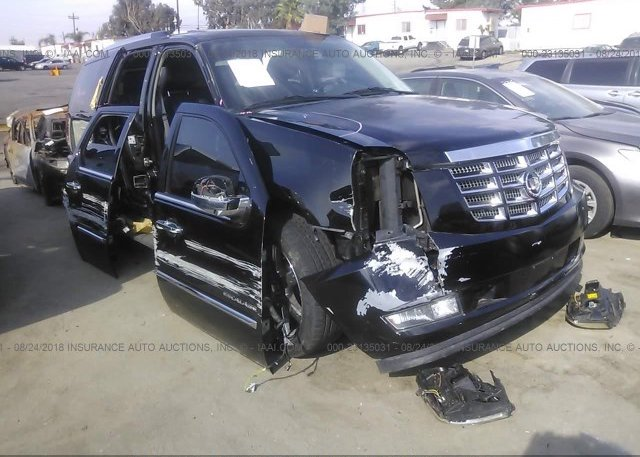 1GYS4FEJ0DR273095, Salvage Certificate black Cadillac