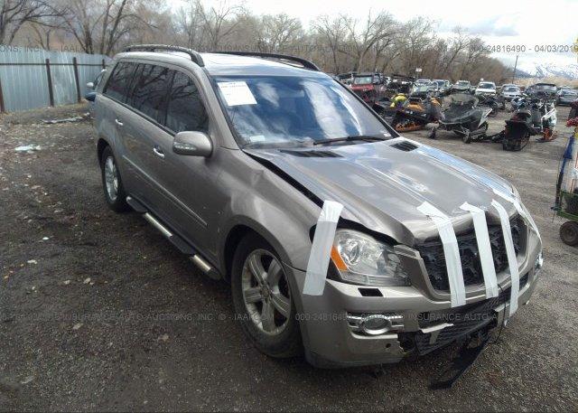 Inventory #956060036 2008 Mercedes-benz GL