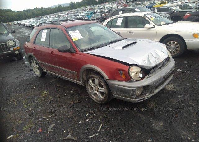 Inventory #405750914 2002 Subaru IMPREZA