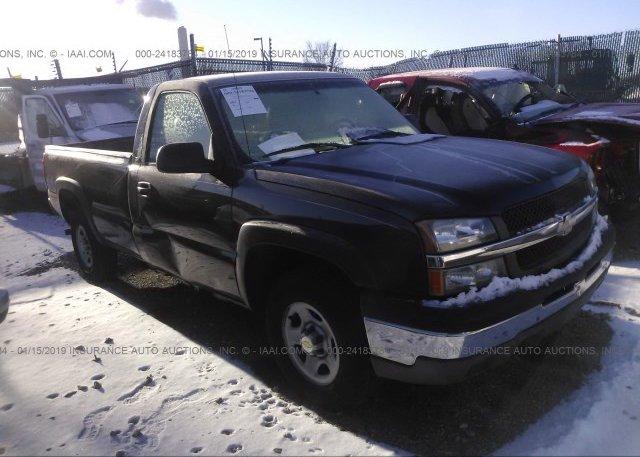 Inventory #474025984 2003 Chevrolet SILVERADO