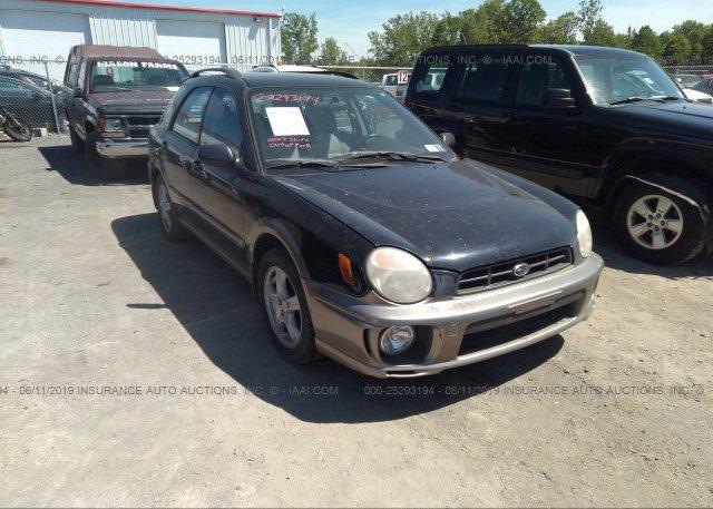 Inventory #867149620 2002 Subaru IMPREZA