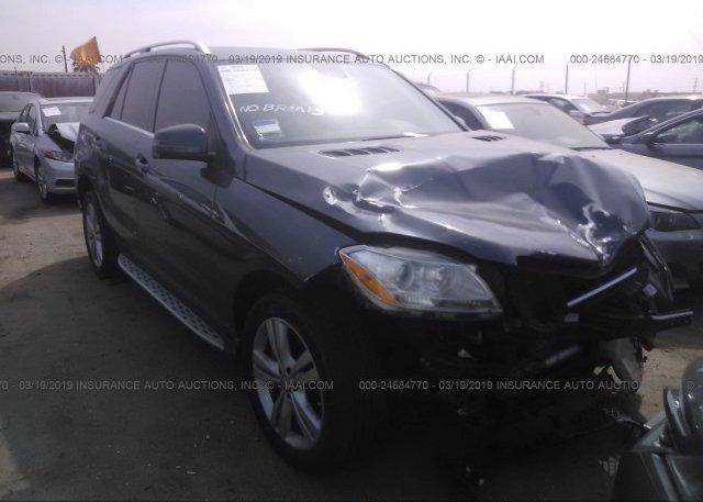 Inventory #152395075 2013 Mercedes-benz ML
