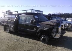 2007 FORD F550 - 1FDAW56PX7EB36651 Left View