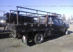 2007 FORD F550 - 1FDAW56PX7EB36651 rear view