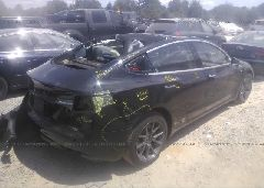 2019 TESLA MODEL 3 - 5YJ3E1EA2KF313478 rear view
