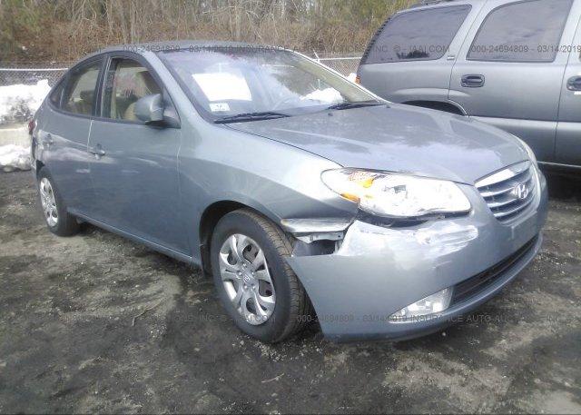 Inventory #984488781 2010 Hyundai ELANTRA