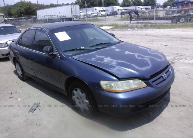 Inventory #891910052 2002 Honda ACCORD