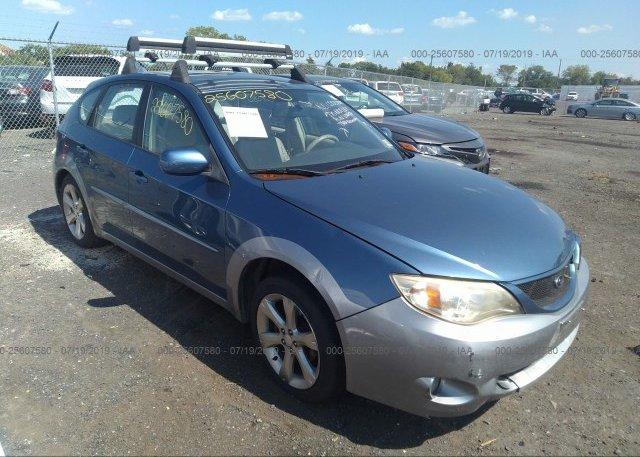 Inventory #596827612 2008 Subaru IMPREZA