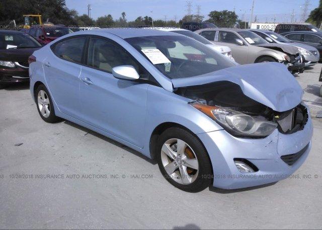 Inventory #235332935 2012 Hyundai ELANTRA