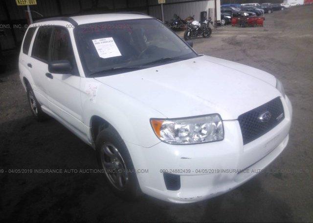 Inventory #929025478 2007 Subaru FORESTER
