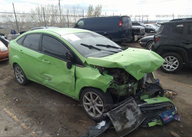 Inventory #371799374 2015 FORD FIESTA