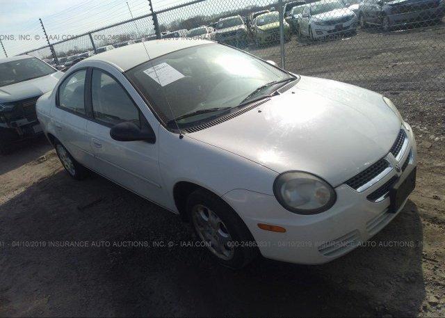 Inventory #389102507 2003 Dodge NEON