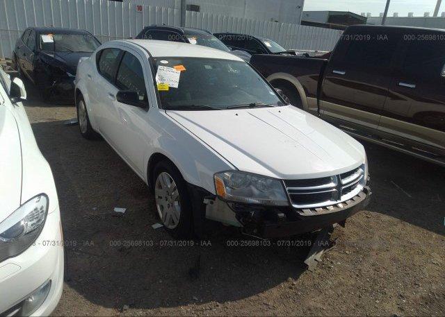 Inventory #575317264 2013 Dodge AVENGER