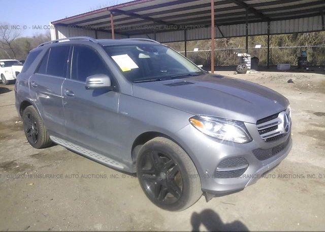 Inventory #734041814 2016 Mercedes-benz GLE